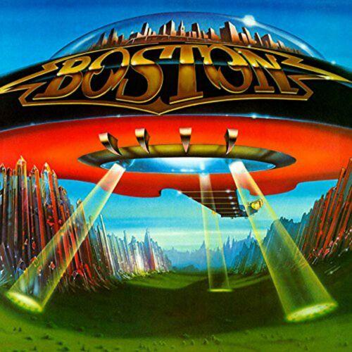 BOSTON Dont Look Back BANNER HUGE 4X4 Ft Fabric Poster Tapestry Flag album art