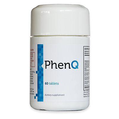 PhenQ Gewichtsreduzierung Abnehmen Fatburner 60 Tablets NEU Versiegelt Original
