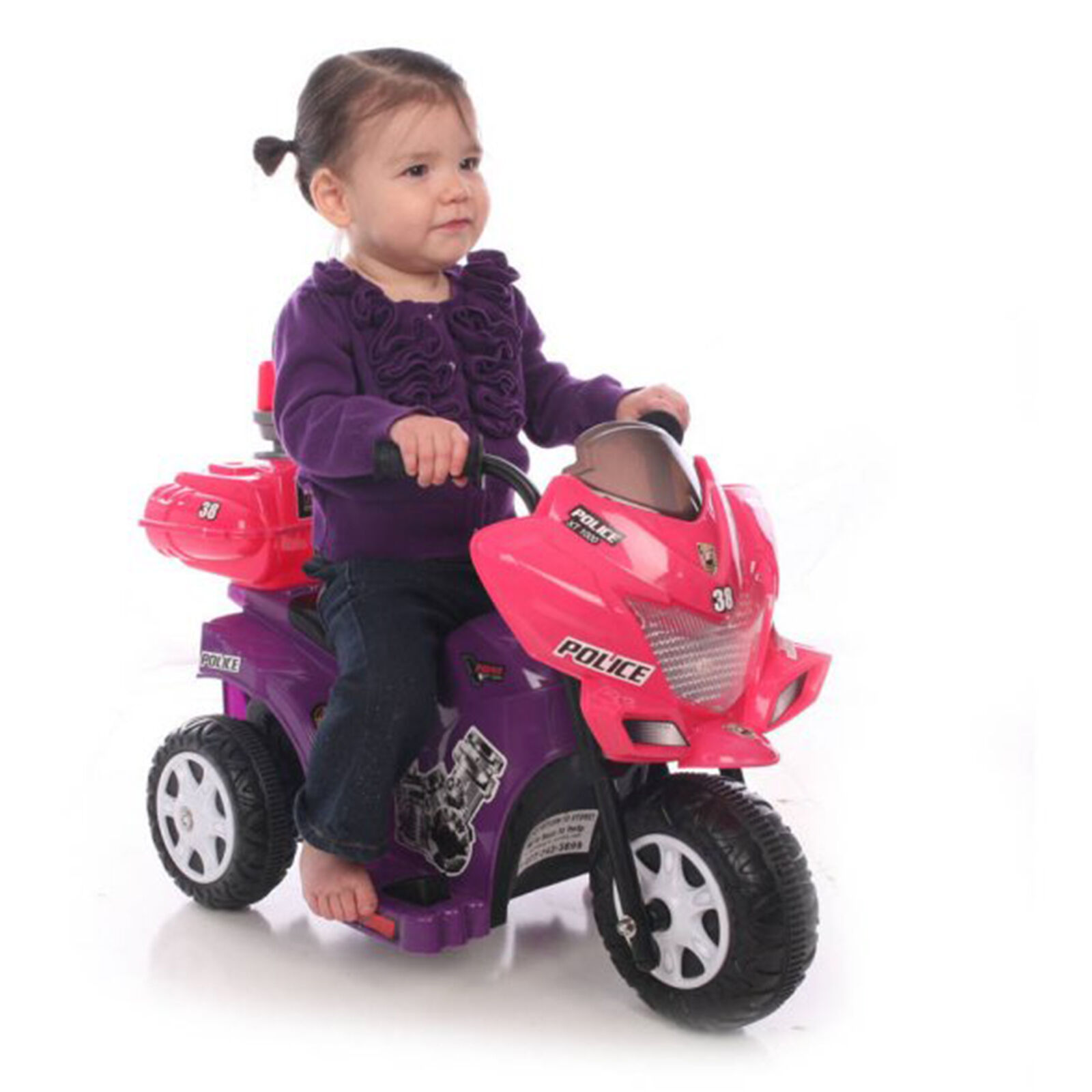 Motorcycle Ride On Toy Battery Powered 6V Electric Kid Motor