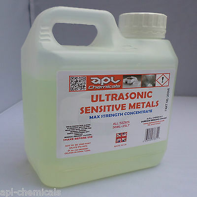 ULTRASONIC CLEANING SERVICE FLUID cleaner solution 1 litre size.