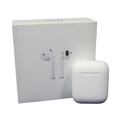 Apple AirPods 2nd Generation Headsets with Wireless Charging Case (MRXJ2AM/A)