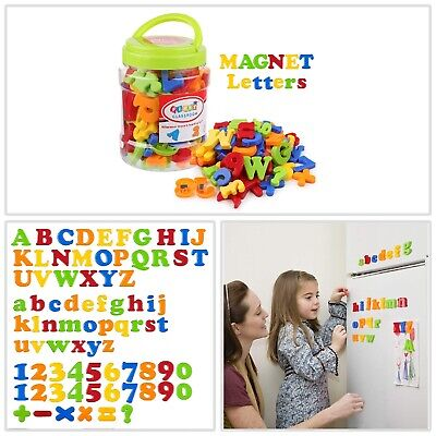 Plastic Magnetic Letters (Magnetic Letters Numbers Alphabet Fridge Magnets Colorful Plastic Toy Set 78)