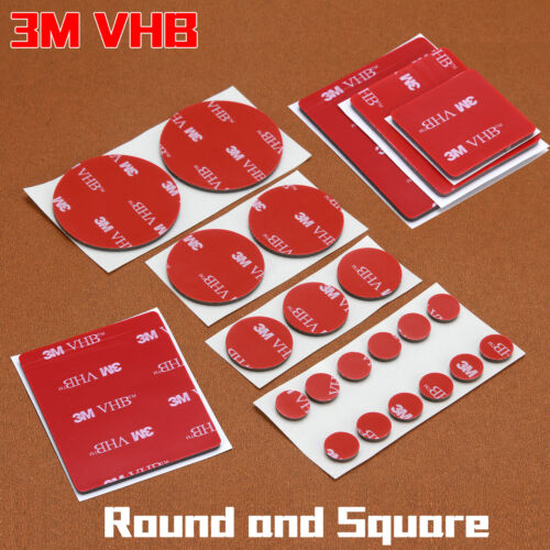 3M Double-Sided Adhesive Tape Strong Pads Mounting Stickers