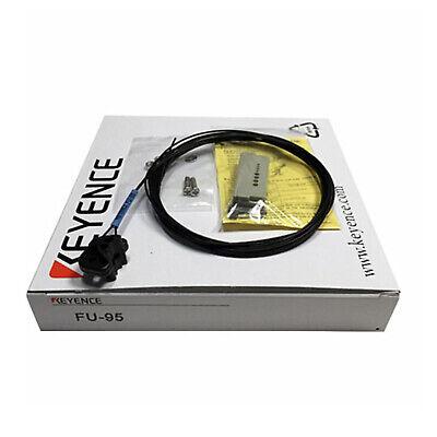 Keyence Fu-95 Digital Liquid Level Sensor Cable Fiber Optic 6ft Pipe Mounting