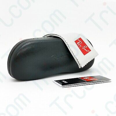 Ray-Ban Eyeglasses Sunglasses Optical Hard Case with Cleaning Cloth - (Sunglasses Case Hard)