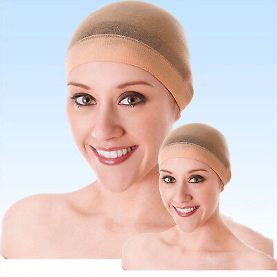 2 x Unterziehhaube für Perücken Haarnetz Accessoire für Perücken