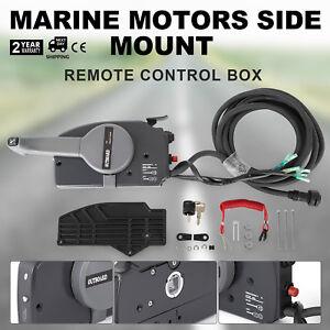 703 Marine Side Mount Remote Control Box For Yamaha 703-48207-22-00 Shift