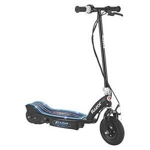 Razor E100 Glow Electric Scooter, Black & Blue - Please See