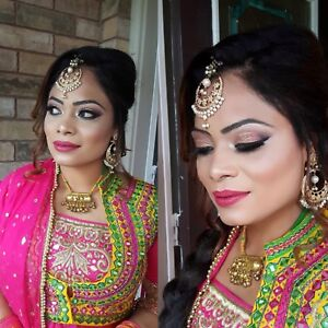 Party makeup and hairdo $100