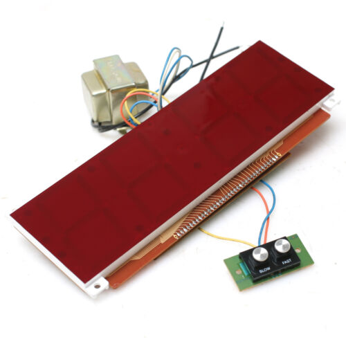 "2-1/2"" Red Diodes Clock Display with 120VAC Power Supply and LM8361 Control Chip"