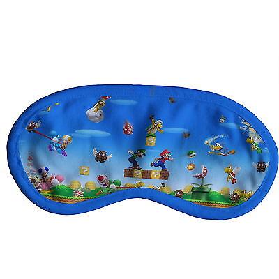 Super Mario Bros Schlafmaske Augenmaske mit Elastikband y44 w0046 ()