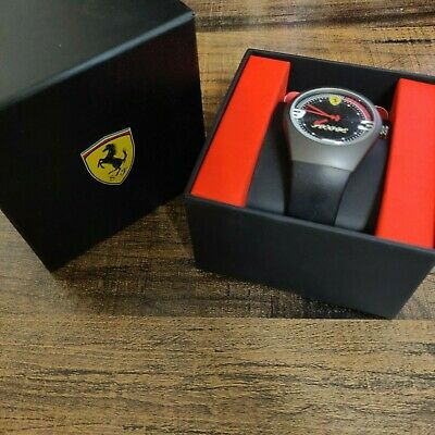 Ferrari Pitstop Watch Black PVD Carbon