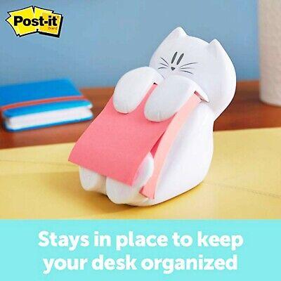 Post-it Cat Figure Pop-up Note Dispenser 3 X 3 New