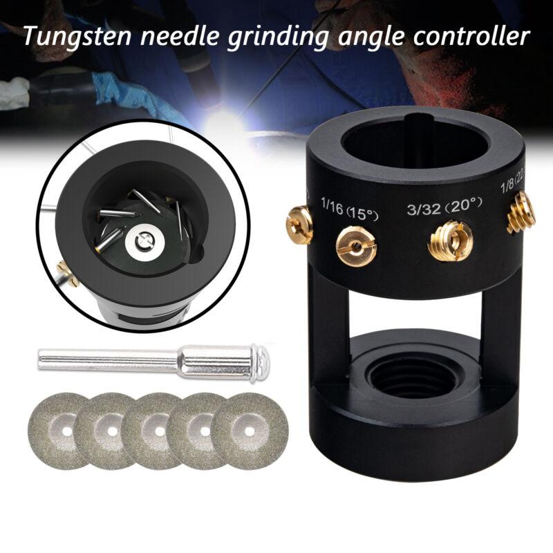 TIG Welding Tungsten Grinder Sharpener Multi-Angle Offsets & Multi-Function Tool