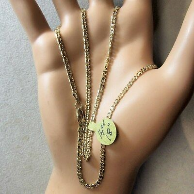14 ct GOLD  second hand fancy chain