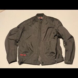 Men's Large Power Trip Motorcycle Jacket