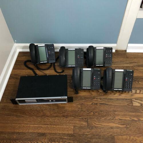 Mitel Phone System with 5 Phones