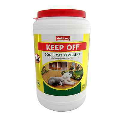 Multicrop 1kg Keep Off DOG & CAT REPELLENT Safe & Non-Toxic - Australian Brand
