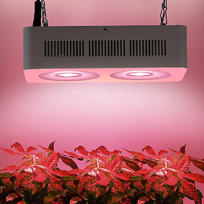 PopularGrow Full Spectrum 400W COB LED Grow Light Lamp For Plant Growth Bloom