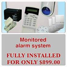 MONITORED SECURITY ALARM SYSTEM FOR YOUR HOME OFFICE BUSINESS Athol Park Charles Sturt Area Preview
