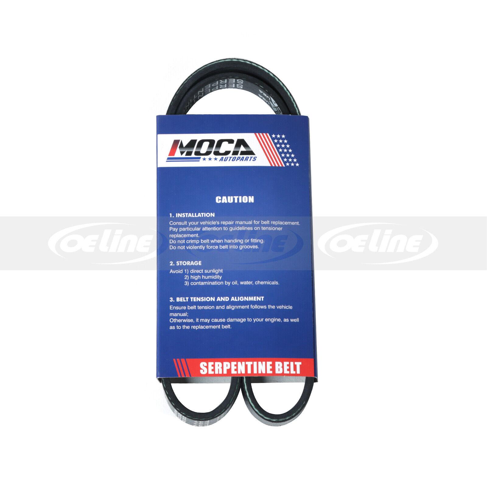 Fit 92-98 Acura Integra GS LS RS 1.8L DOHC EPDM Serpentine