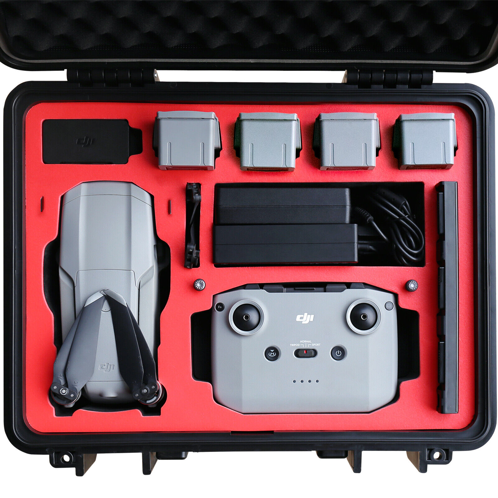 Cloud Burst Carrying Case EVA Hard Compatible with DJI Mavic Air 2 Fit for Case