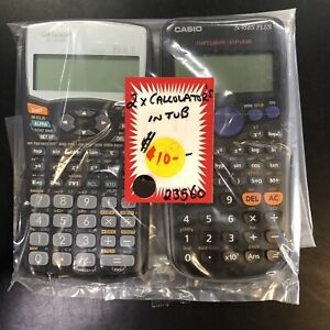 PAIR OF CALCULATORS
