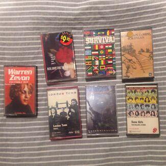 Vintage cassette tapes Braddon North Canberra Preview