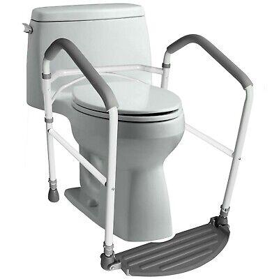 RMS Toilet Safety Frame & Rail - Folding & Portable - Adjustable Height