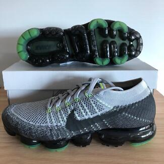 Nike Lab Flyknit Vapormax Platinum Neon US10 DS Carlton Melbourne City Preview