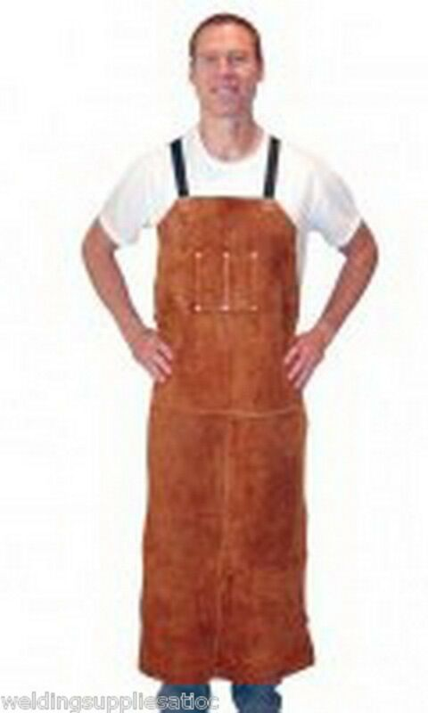 "TILLMAN 3848 48"" LEATHER BIB WELDING APRON"