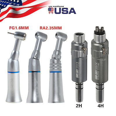 Dental Slow Low Speed Push Button Contra Angle Air Motor Micromotor 24h F.nsk