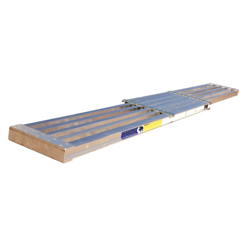 Aluminum Extension Plank • 250 lbs. Capacity • 8