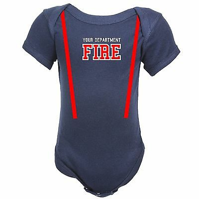 Baby Firefighter Costume (Personalized FIREFIGHTER Costume Baby)