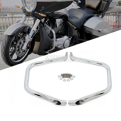 Engine Guard Side Crash Bar Protective For Victory Cross Country Roads Magnum US