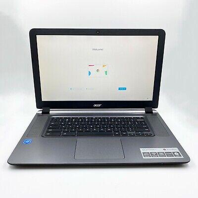 Acer Chromebook 15.6inch CB3-532-C47C Celeron N3060 2GB RAM 16GB SSD N15Q9 Black