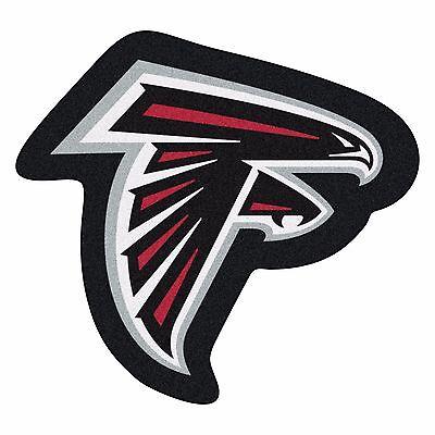 Atlanta Falcons Mascot Decorative Logo Cut Area Rug Floor Mat