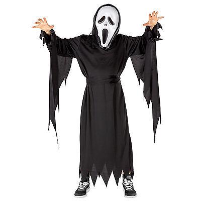 Jungenkostüm schreiender Geist Halloween Karneval Fasching Kostüm Kinder Horror