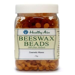 BEESWAX-BEADS-Cosmetic-Wax-Pure-75g-BEST-Quality