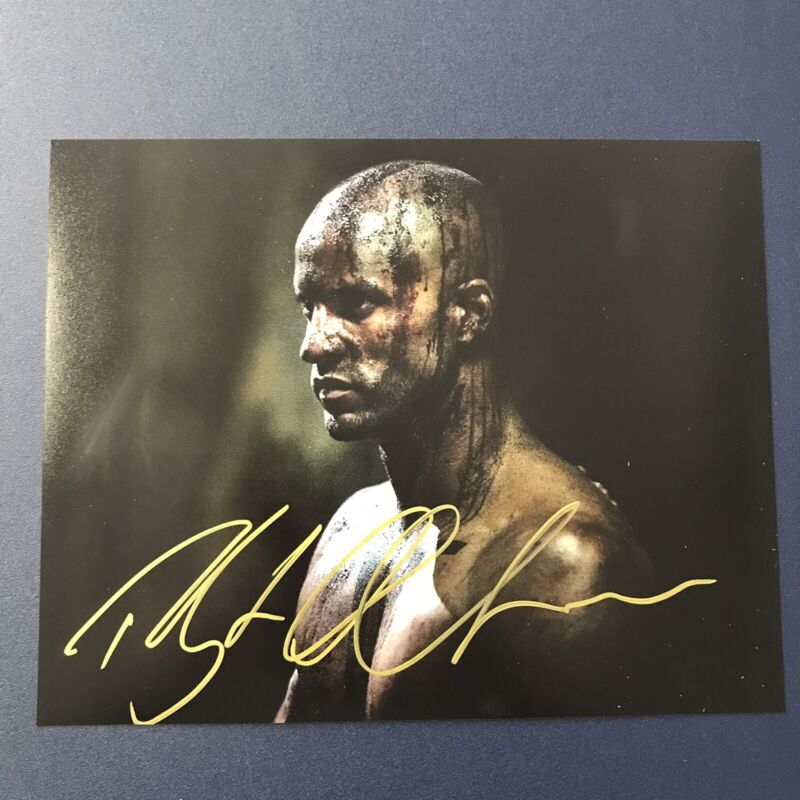 RICKY WHITTLE HAND SIGNED 8x10 PHOTO ACTOR AUTOGRAPHED THE 100 AMERICAN GODS COA