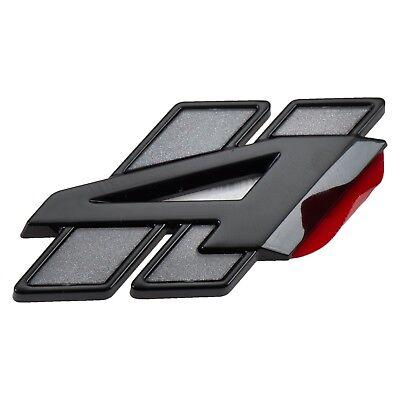 18-19 DODGE DURANGO GRAY & BLACK ALL WHEEL DRIVE LIFTGATE EMBLEM BADGE MOPAR Dodge All Wheel Drive