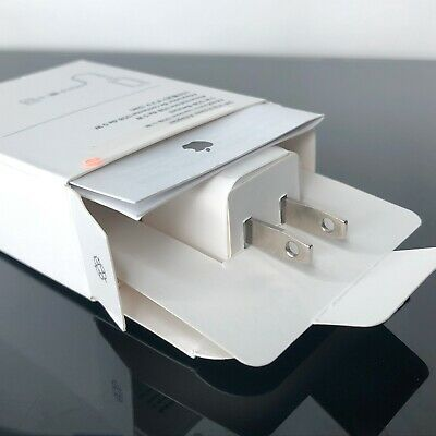NEW Genuine OEM Apple™ iPhone Cube Wall Charger Plug 5W USB Power Adapter A1385