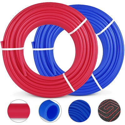 2 Rolls 12300ft Pex Tubing Pipe Non-barrier Applications Radiant Potable Water