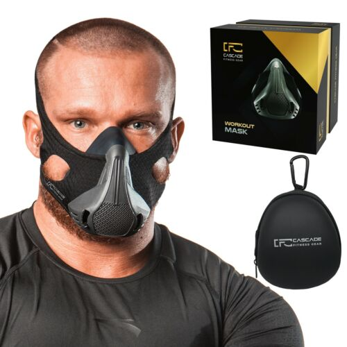Workout/Training Mask for Cardio Workout.Train your respiratory muscles. 25LVLs