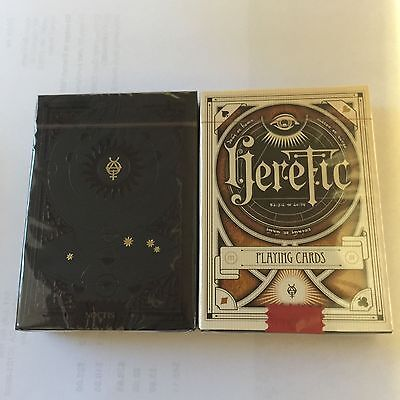 Set of 2 Heretic Decks Limited Edition Playing Cards New Sealed