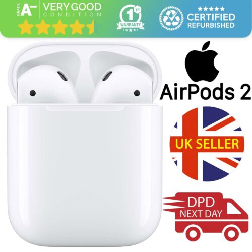 Apple AirPods 2nd Generation with Charging Case White Grade A-