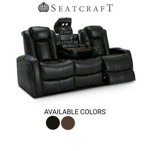 Seatcraft Omega Home Theater Seating Sofa Recliner Seat Chair Couch Living Room