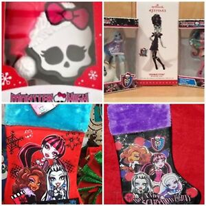 Looking for Monster High xmas decorations