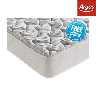 Dormeo Silver Plus Memory Foam Anti Allergy Medium Feel Double Mattress