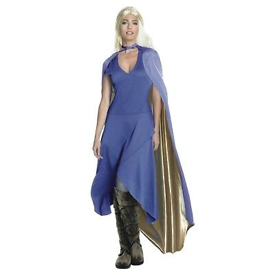 Womens Medieval Dragon Queen Game Of Thrones Daenerys Halloween Costume Dress